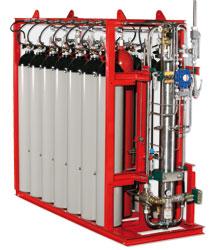 Насосные установки HI-FOG® GPU (Gas-driven Pump Unit)